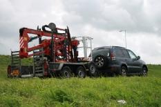 auto/hoogwerker combinatie